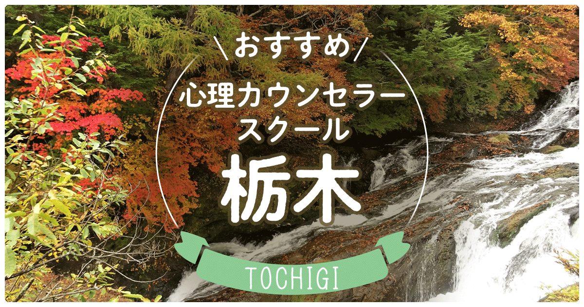 栃木県のおすすめ心理カウンセラースクールは?
